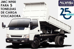 N900 Volcadora Especial 5 Toneladas Adentro De Caja Iva Inc