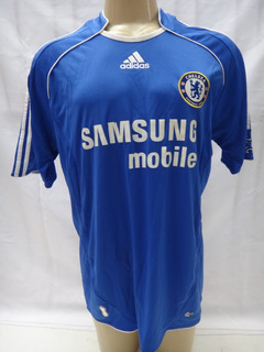 Camisa De Futebol Do Chelsea F.c. 2007 Samsung G adidas Jb9