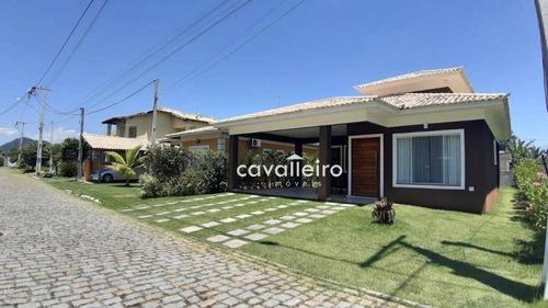 Casa Com 2 Dormitórios À Venda, 100 M²  São José Do Imbassaí - Maricá/rj - Ca4026