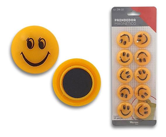 Kit Com 10 Prendedores Magnéticos Western