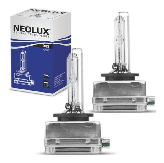 Par Lâmpada Xênon Neolux D3s 4250k 35w 12v Aplicação Farol