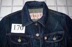 Jaqueta Jeans Da Marca Guess - Tam P (fem) (cod. J170)