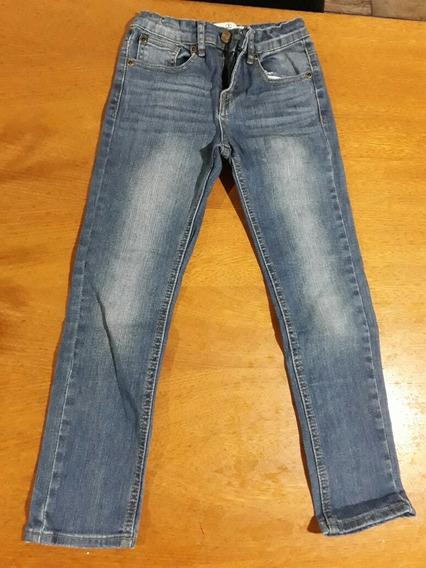 Pantalon Jeans Paula Cahen Niños Talle 8 Unisex