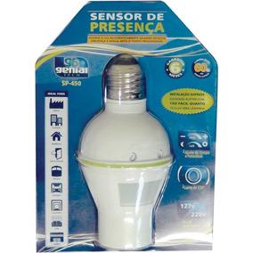 Sensor De Presenca Soquete Sp450 Lente 120g Bivot Gramp Line