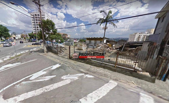Terreno Para Alugar, 1149 M² Por R$ 15.000,00/mês - Alto Da Lapa - São Paulo/sp - Te0991