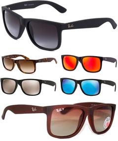 c553a362d Cinza Ray Ban Justin Rb4165 4165 55 854%c3%9872 Marrom - Óculos no ...