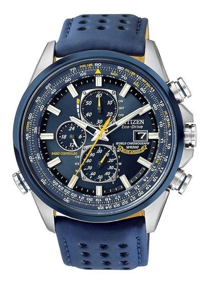 Relógio Citizen Eco-drive Blue Angels At8020-03l - Promoção!