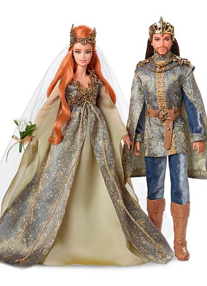 Bonecos Barbie E Ken Collector Faraway Forest Fairy Kingdom