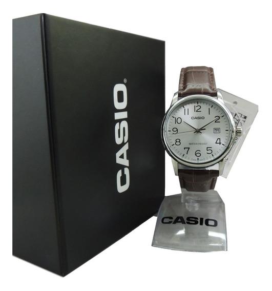 Relógio Casio Masculino - Mtp-v002l-7b2udf (n.f. E Garantia)