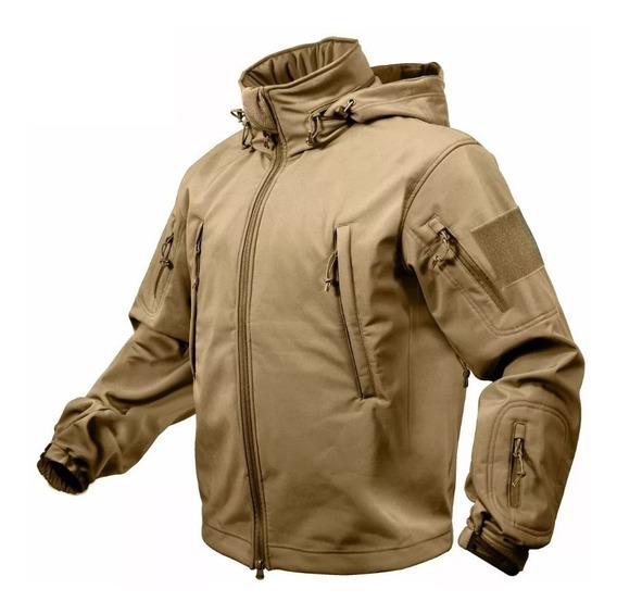 Campera Rothco Softshell Tactica Militar Neoprene Premium