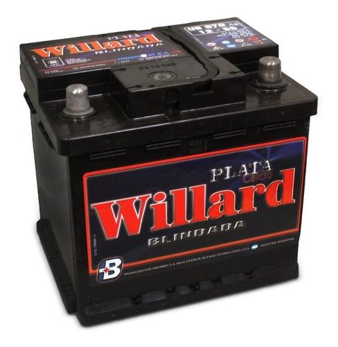Imagen 1 de 10 de Bateria Auto Willard Ub670 12x55  Alta Envio Caba Gratis