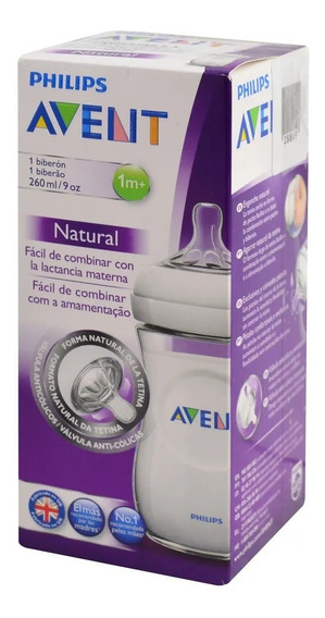 Avent Philips Mamadera Natural 260ml Farmaservis