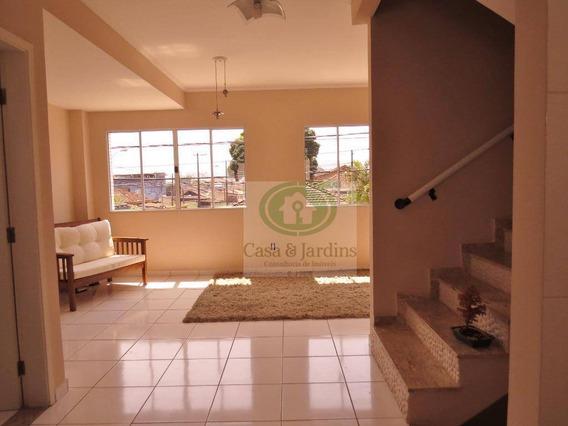 Casa Com 3 Dormitórios À Venda, 125 M² Por R$ 638.000 - Vila Cascatinha - São Vicente/sp - Ca0729