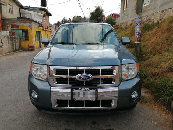 Ford Escape 3.0 Xlt Piel Limited V6 At 2011