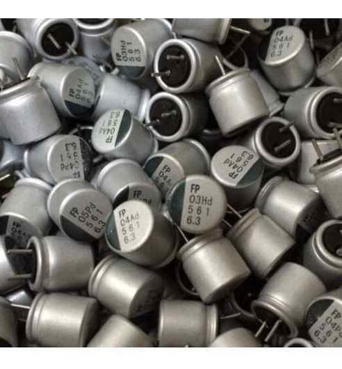 Condensador Electrolítico Solidos V560uf 560 Uf 6.3v 6.3x9mm