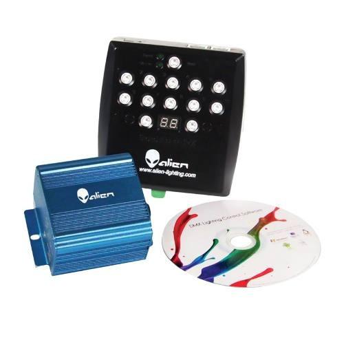 Imagen 1 de 1 de Software Dmx Compatible 512 Canales 4 Interfases Luz Disco D