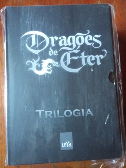 Box Dragões De Éter - Coleção Com 03 Volumes