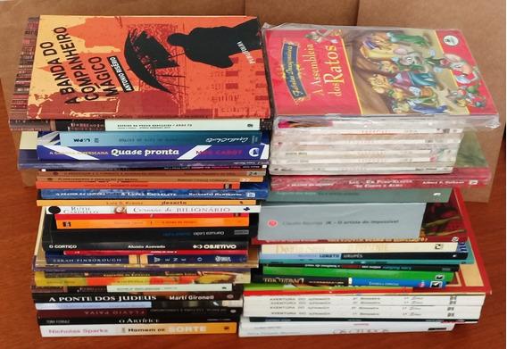 Livros Diversos - Lote Com 50 Unidades
