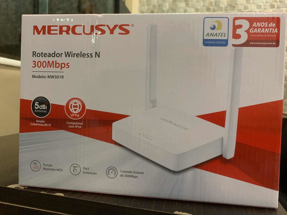 Roteador Wireless 300 Mbps
