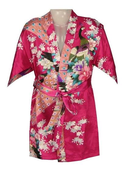 Robe Kimono Oriental Infantil Importado!