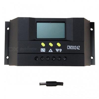 Controlador De Carga Solar 30a Auto Regulador De Carga Solar