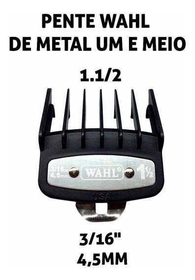 Pente Wahl De Metal Um E Meio 1.1/2