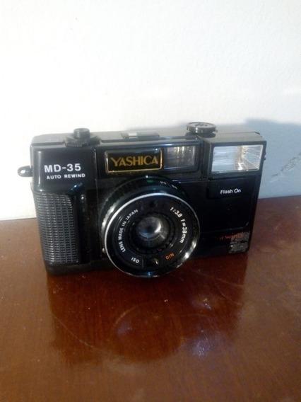 Câmera Fotográfica Antiga Yashica Md35