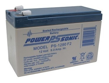 Imagen 1 de 3 de Bateria 12v 9ah Powersonic Agm/ Ups /alarma /sirena Ps-1290