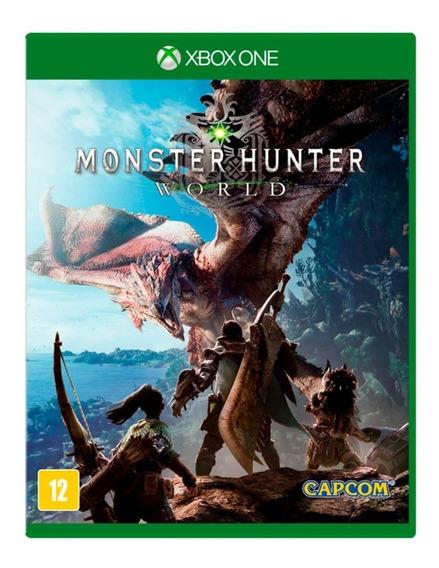 Jogo Monster Hunter World Mídia Física - Xbox One