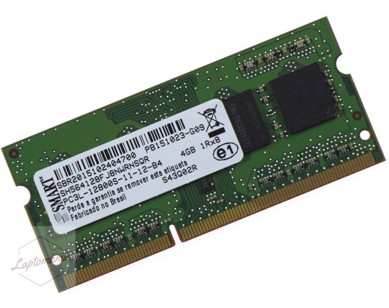 Memória Notebook Ddr3 4gb 1600mhz Pc3l 12800s Nova 1.35v