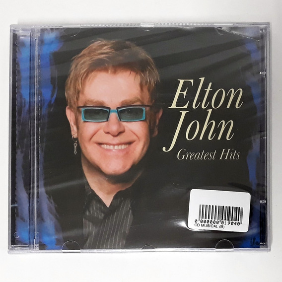 Cd Elton John Greatest Hits Nikita Sacrifice Rocket Man Novo