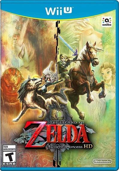 Jogo The Legend Of Zelda Twilight Princess Nintendo Wii U