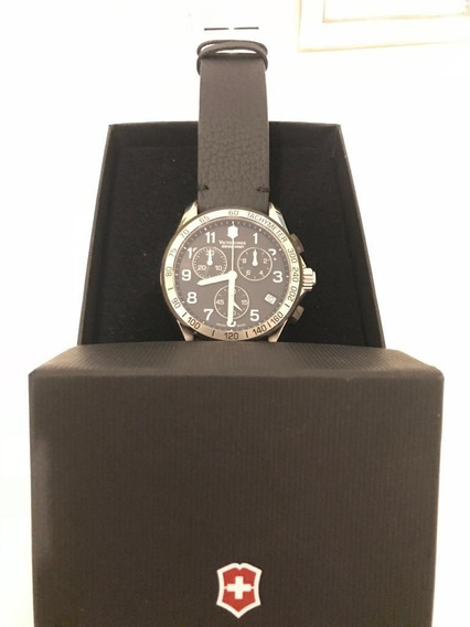 Relógio Suíço Victorinox Modelo 241403 Novo Na Caixa