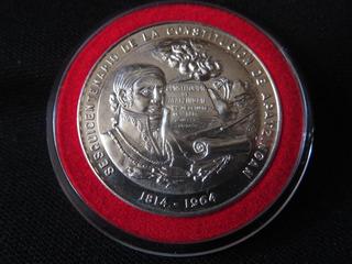 Medalla Sesquicentenario Costitucion Apatzingan 1814 1964