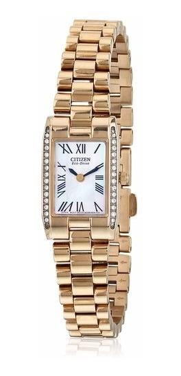 Reloj Citizen Eco-drive Silhouette Crystal Ew9813-50d Mujer