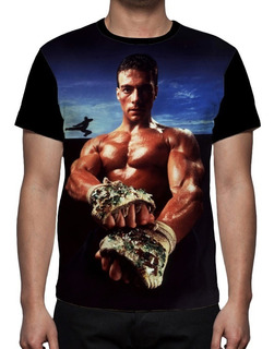 Camiseta Jean Claude Van Damme - Frente