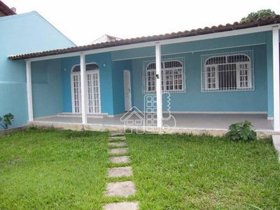 Excelente Casa Em Pendotiba De 4 Quartos (1 Suíte) - Ca0443