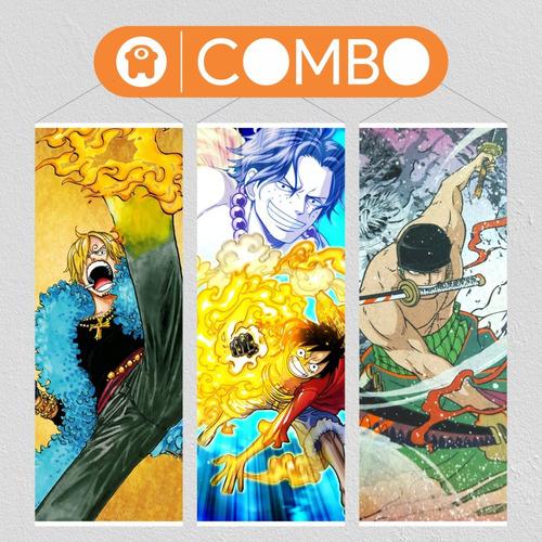 Tu Combo Personajes One Piece X 3 - Animeras