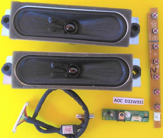 Alto Falante // Cabo Flat // Teclado E Sensor D32w931 (kit)