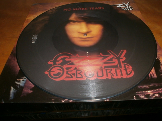 Ozzy Osbourne No More Tears Maxi 12 Picture Disc