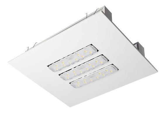 Luminária Led P/ Posto De Combustível 120w - 5 Anos Garantia