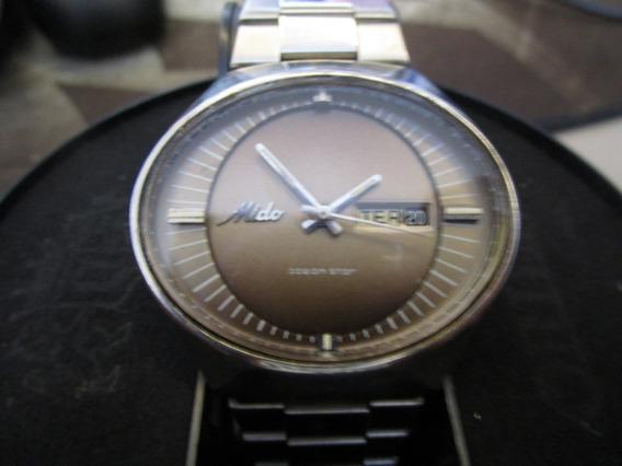 Relógio Masculino Mido Multi Star Maracanã Automático Aço