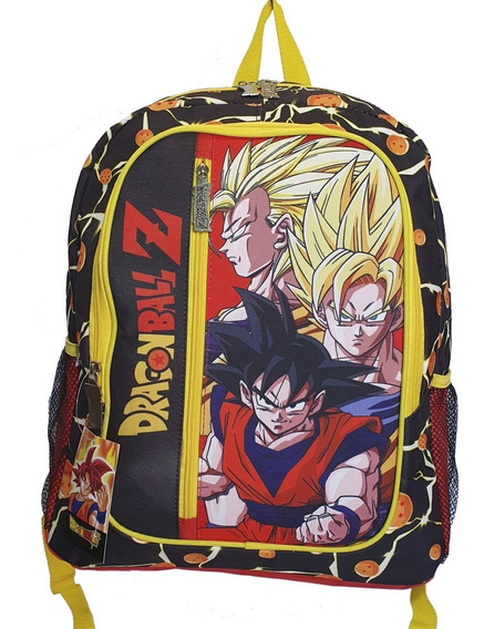 Mochila Dragon Ball 17 44cm Original