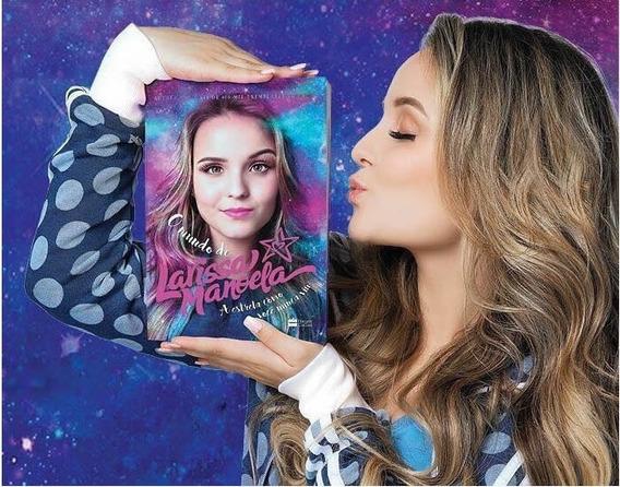 Livro O Mundo De Larissa Manoela Autografado Por Ela