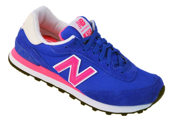 Zapatillas Mujer New Balance Wl-515 Original Azul