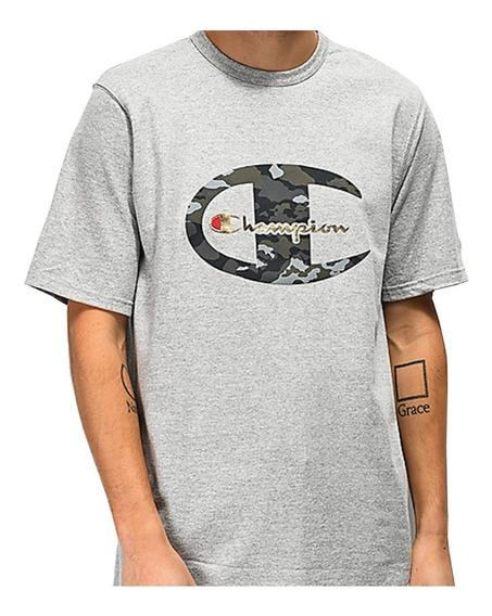 Champion Heritage Camo C Grey T-shirt