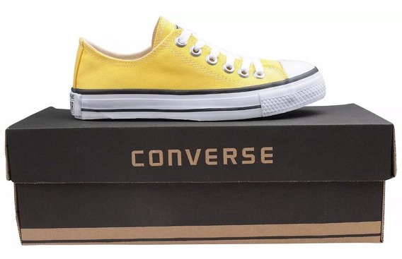 Tênis Converse All Star Chuck Tylor Original Amarelo