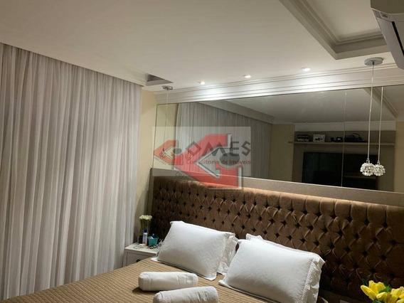 Apartamento Com 4 Dormitórios À Venda, 147 M² Por R$ 1.100.000,00 - Centro - São Bernardo Do Campo/sp - Ap3108