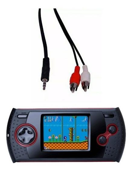 Cabo Av Para Master System Portátil Da Tectoy E At Game Md