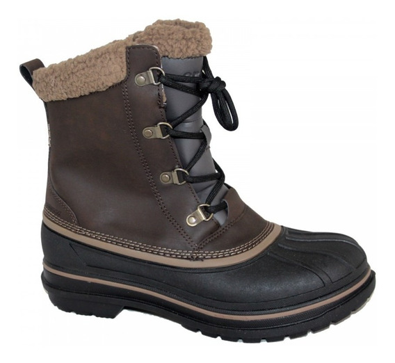 Crocs Allcast Boot Borcego Hombre Preski